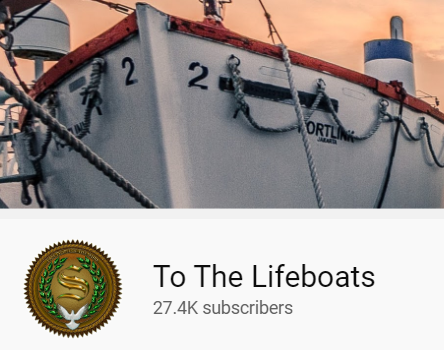 to the lifeboats