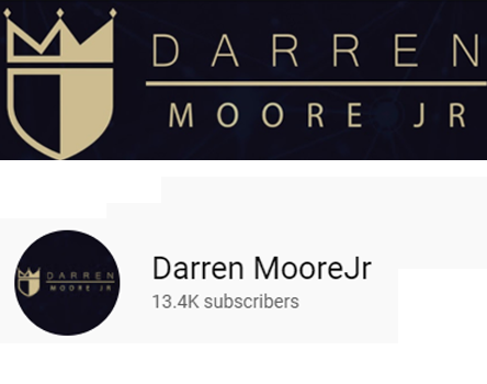Darren MooreJr youtube channel headers