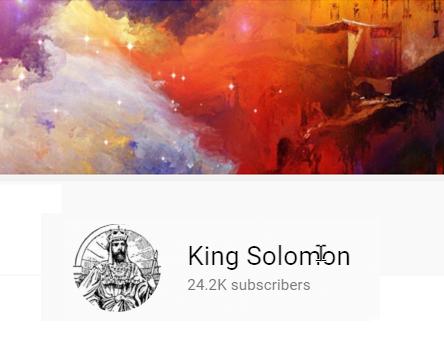 king solomon youtube header